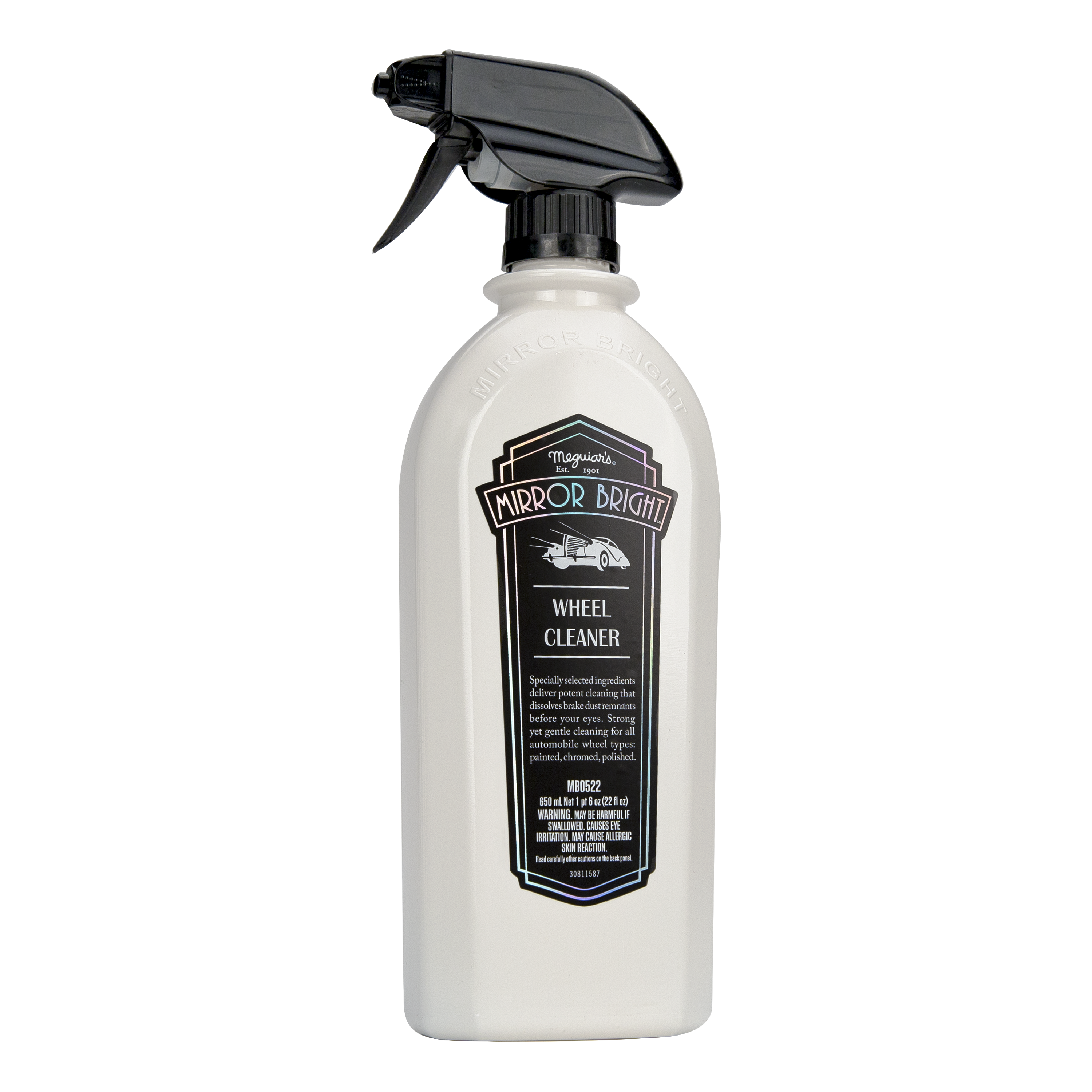 MB0522 Mirror Bright Wheel Cleaner, 22 oz.