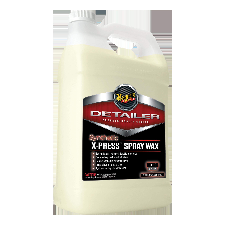 Meguiar S Synthetic X Press Spray Wax D15601 1 Gallon Liquid