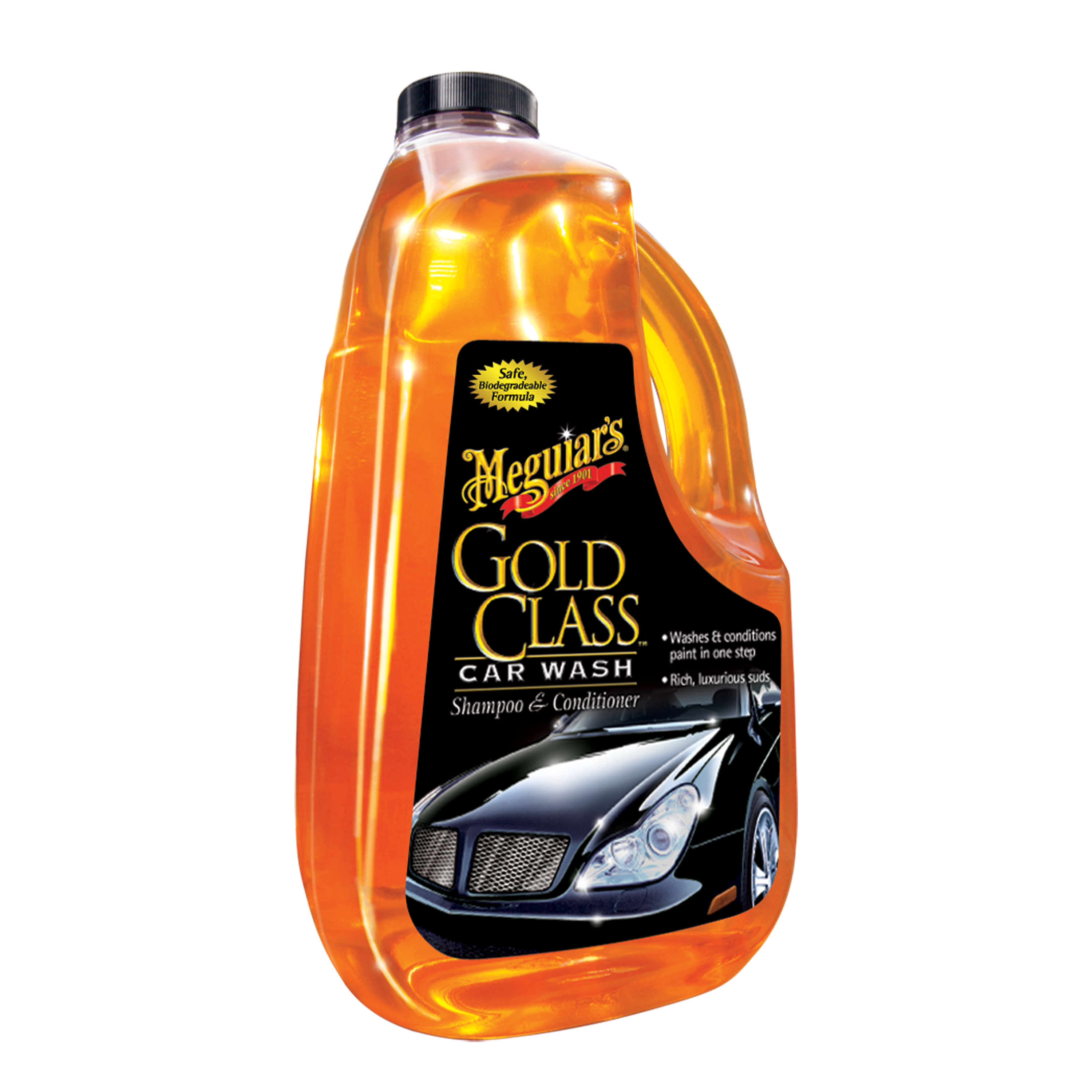 What Kind Of Soap To Wash A Car >> Meguiar S Gold Class Car Wash Shampoo Conditioner G7164