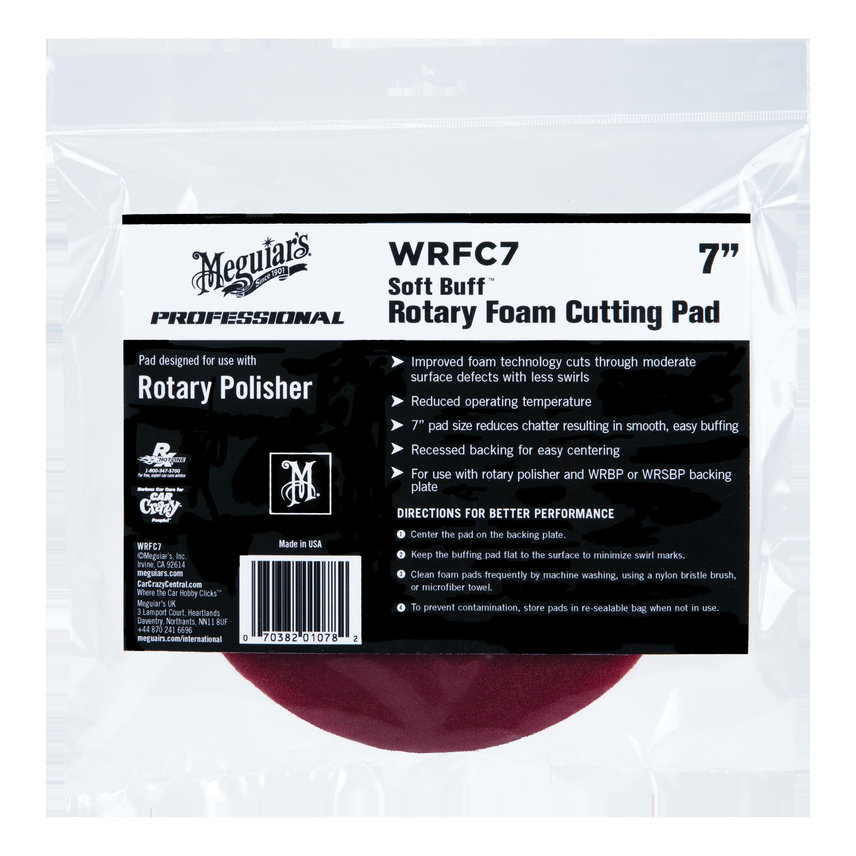 """Meguiars WRFC7 7/"""" Rotary Foam Cutting Pad"""