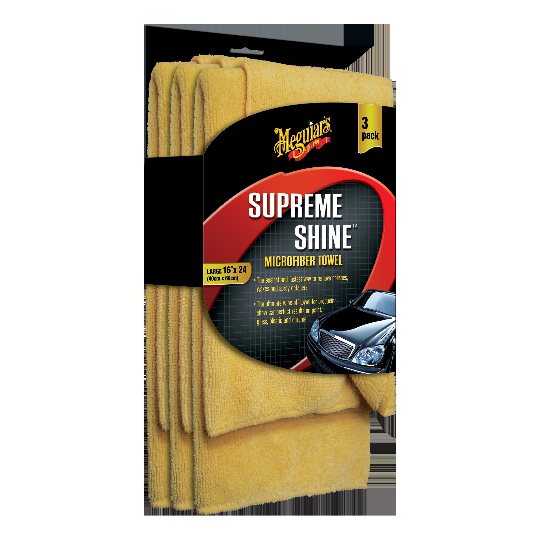 Supreme Shine Reg Microfiber Towel